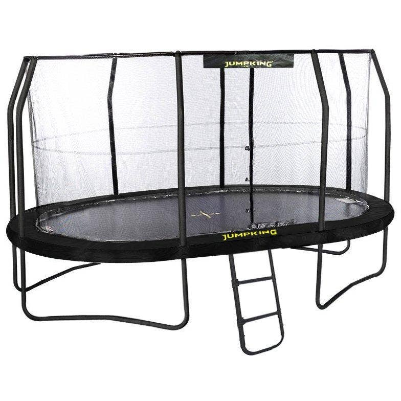 17ft X 14ft Jumpking OvalPOD Oval Trampoline With