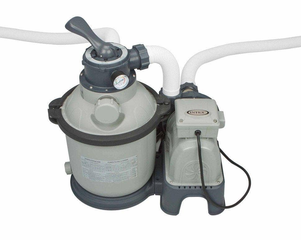 Intex 2650gal Krystal Clear Sand Filter Pump Saltwater System 28680