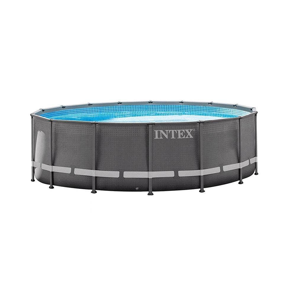 Intex 16ft X 48 Ultra Xtr Frame Round Swimming Pool Sand Filter