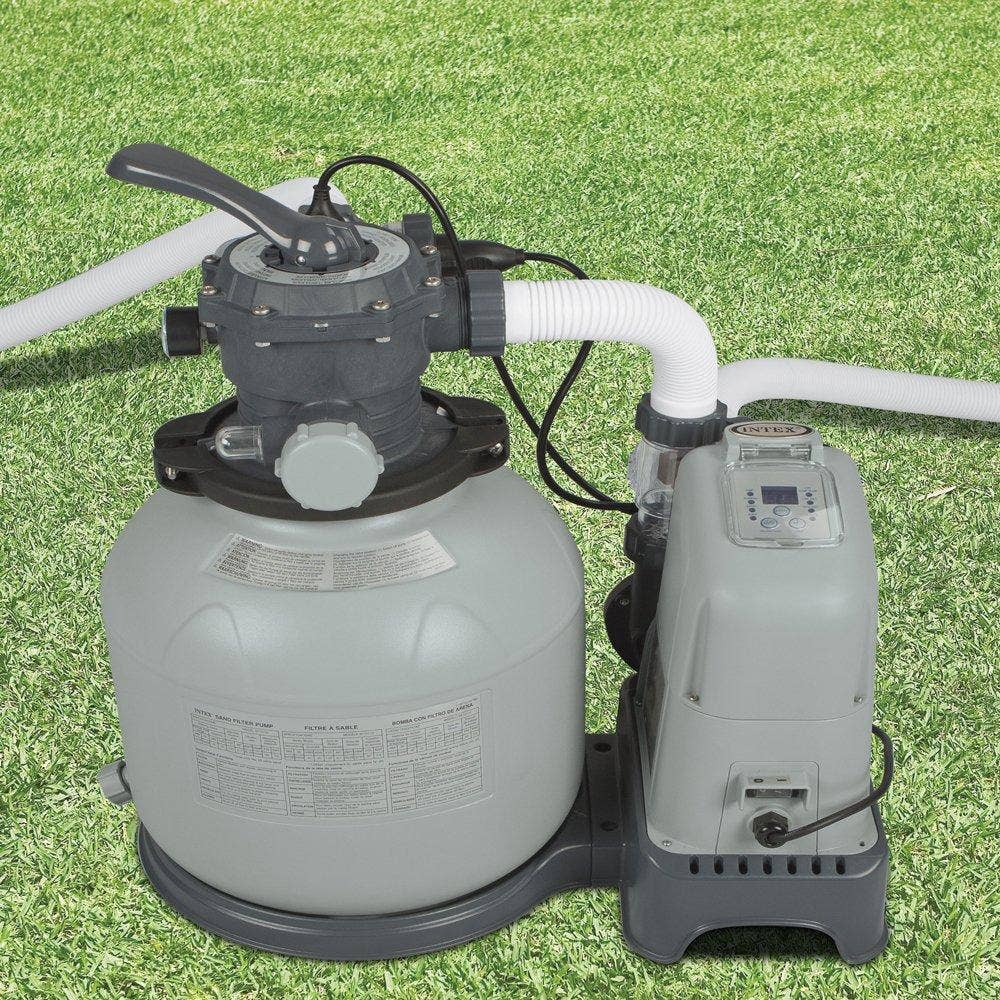 Intex 1600gal Krystal Clear Sand Filter Pump Saltwater System 28676 Ebay
