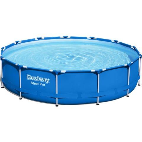 "Bestway Steel Pro Round  13' x 33"" Above Ground Swimming Pool"