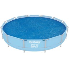 Flowclear 12ft Above Ground Round Frame Pool Solar Cover