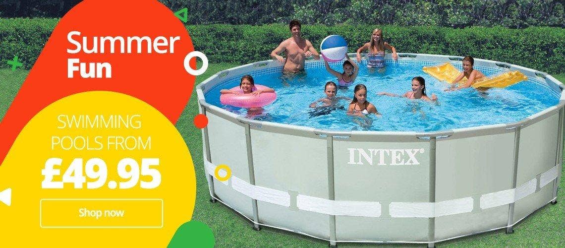 Above Ground Pools Banner